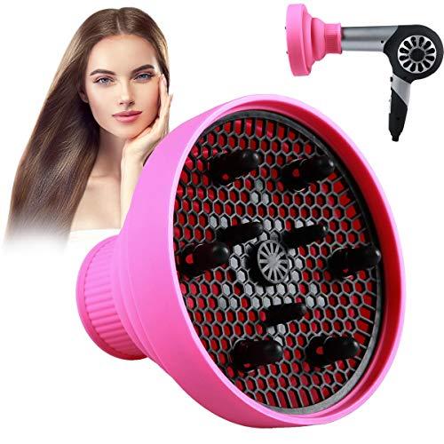 ZITFRI Imetec Diffon - Difusor universal para el pelo, difusor plegable y portátil, difusor universal para rizos con diámetro exterior de 4-6 cm