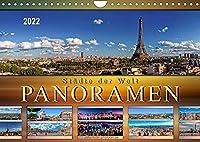 Staedte der Welt, Panoramen (Wandkalender 2022 DIN A4 quer): Eindrucksvolle Staedte der Welt in aussergewoehnlichen Panoramen. (Monatskalender, 14 Seiten )