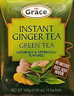 Grace Instant Ginger Tea Net.Wt 140 gr (14 Sachets)