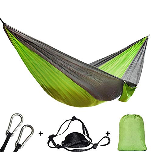 GJZ Single double hammock adult outdoor backpack travel survival hunting sleeping bed portable
