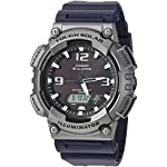 Casio watches Casio Men's Tough (Solar Powered) Quartz Watch with Resin Strap, Black, 25