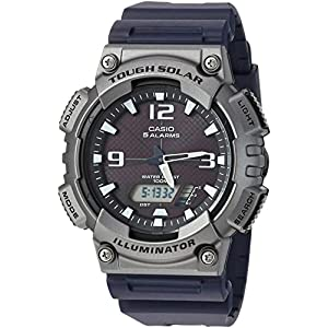 Casio watches Casio Men's Tough (Solar Powered) Quartz Watch with Resin