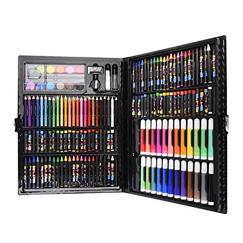 Tokyia Pintura Combinados Juego Set de Escritorio del Cepillo del Arte del Regalo 168 del Estudiante de Pintura Infantil Proveedores de Arte del Papel por un Dibujo