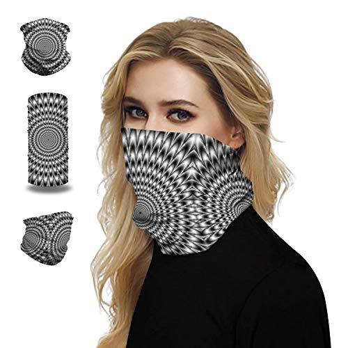 Gepersonaliseerde Naadloze gezichtsbedekkende Vrouwen Custom Bandanas hoofdband met vochtregulerende stof voor Dust Zon Wind Sand - Resist 99,9% ultraviolette stralen,B