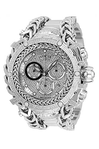 Invicta Reserve - Gladiator 35057 Reloj para Hombre Cuarzo - 58mm - con 696 Diamantes