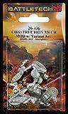 BATTLETECH 20-436 Construction Mech / MOD w/ Variant Arm