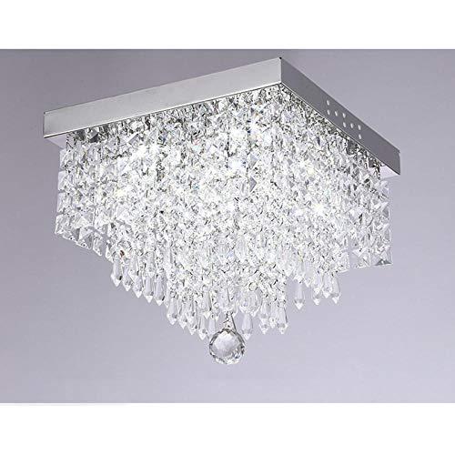 Plafondlamp, plafondlamp, plafondverlichting, modern, Crystal Ceiling lampen, LED, Living Room Dino glas