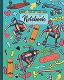 Notebook: Skateboard - Sport Diary , Book Gifts Idea For Men Women Kids Teens Girls Boys Friends