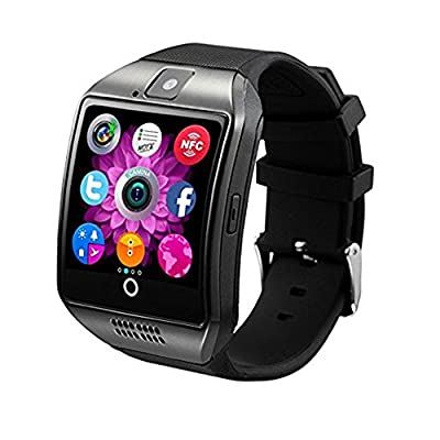 Smart Watch Phone Wireless Bluetooth Sweatproof Smartwatch with Camera Sleep Monitor Fitness Wrist Watch for Android Samsung Galaxy S5 S6 S7 HTC Sony LG G3 G4 G5 Edge S8 Google Pixel Huawei
