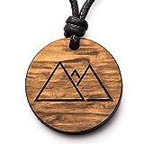 treeforce Berge Halskette, Schlüsselanhänger oder Auto- Anhänger 3in1 DIY Schmuck aus Kupfereiche