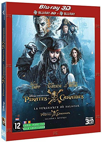DVD - Pirates of the Caribbean 5 - Salazar's revenge (3D) (2 DVD)