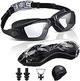 ehomiiii - Gafas de natación, gafas de buceo, antivaho, protección...