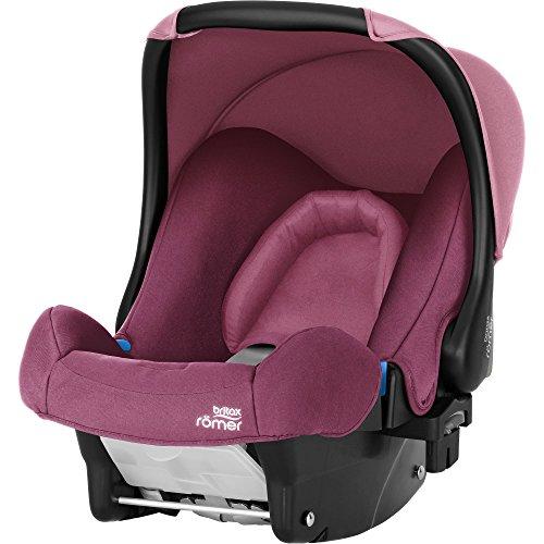 Britax Römer Babyschale Geburt - 13 Monate I 0 - 13 kg I BABY-SAFE Autositz Gruppe 0+ I Wine Rose