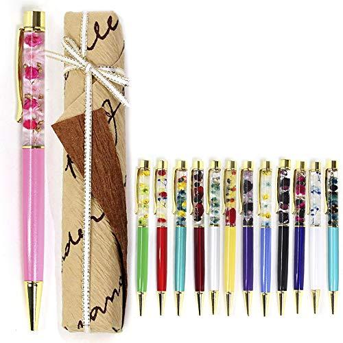[ALICE FLOWER] ラッピング済み 名入れ無し ハンドメイド ハーバリウム ボールペン ディズニー 替え芯1本付き 本体 プリザーブドフラワー ドライフラワー 母の日 ギフト プレゼント 13番目の魔女 母の日