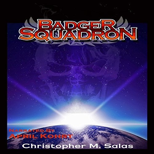 Badger Squadron audiobook cover art