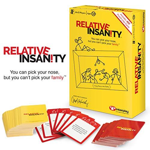 Interplay UK GP001 Kartenspiel, für Relative Insanity, lustiges Kartenspiel
