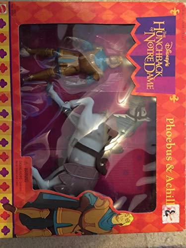 Mattel Jorobado de Disney de Notre Dame Phoebus & Aquiles
