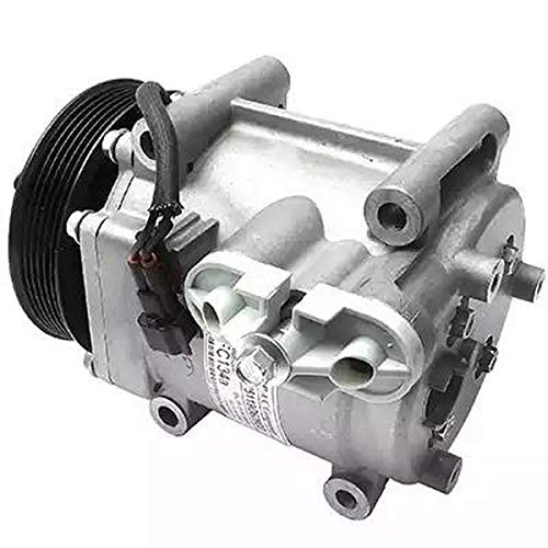 Compressor airconditioning 9145374928152 EcommerceParts voor fabrikant: Qualy, compressor-ID: scroll, riemschijf Ø: 120 mm, aantal vleugels: 6, spanning: 12 V