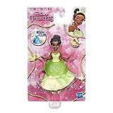 Disney Prinzessinnen – E6515 – Puppe, Disney-Prinzessin, Minipuppe, Royal Clips Tiana, 8 cm