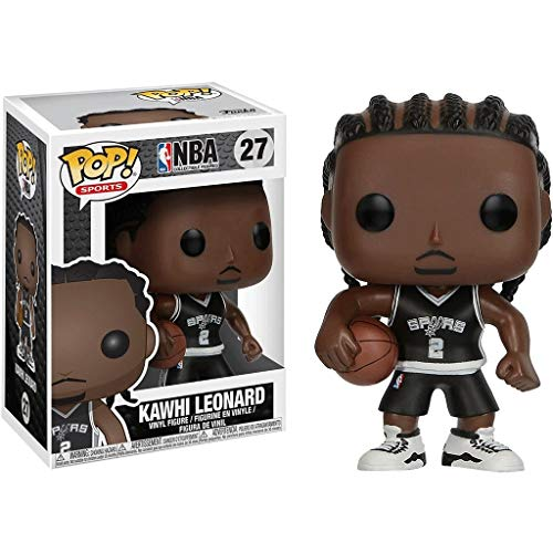 Funko Pop Sports : NBA - San Antonio Spurs Kawhi Leonard Vinyl 3.75inch for Basketball Fans for Boy