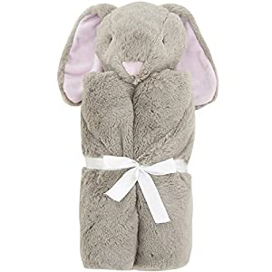 Creation Core Children's Sleeping Bags Baby Plush Security Blanket Newborn Wrapped Blankets Comfy Baby Bath Towel (Brown Rabbit)