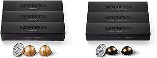 Nespresso Capsules VertuoLine, Melozio, Medium Roast Coffee, 30 Count Coffee Pods, Brews 7.8oz & Capsules VertuoLine, Doub...