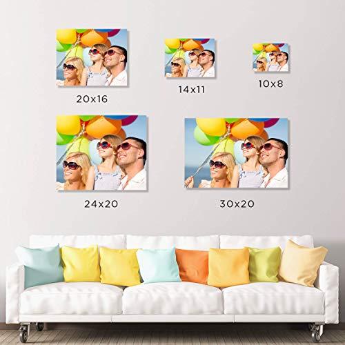 Picture Wall Art Your Photo on Custom Metal 10 x 8 Horizontal Print
