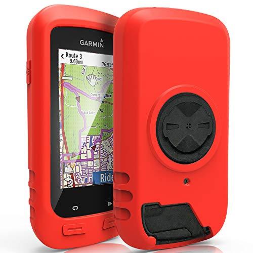 TUSITA Cas Pour GarminEdgeExplore 1000,Approach G8 - Housse de protection en silicone peau - Ordinateur de vélo Accessoires GPS