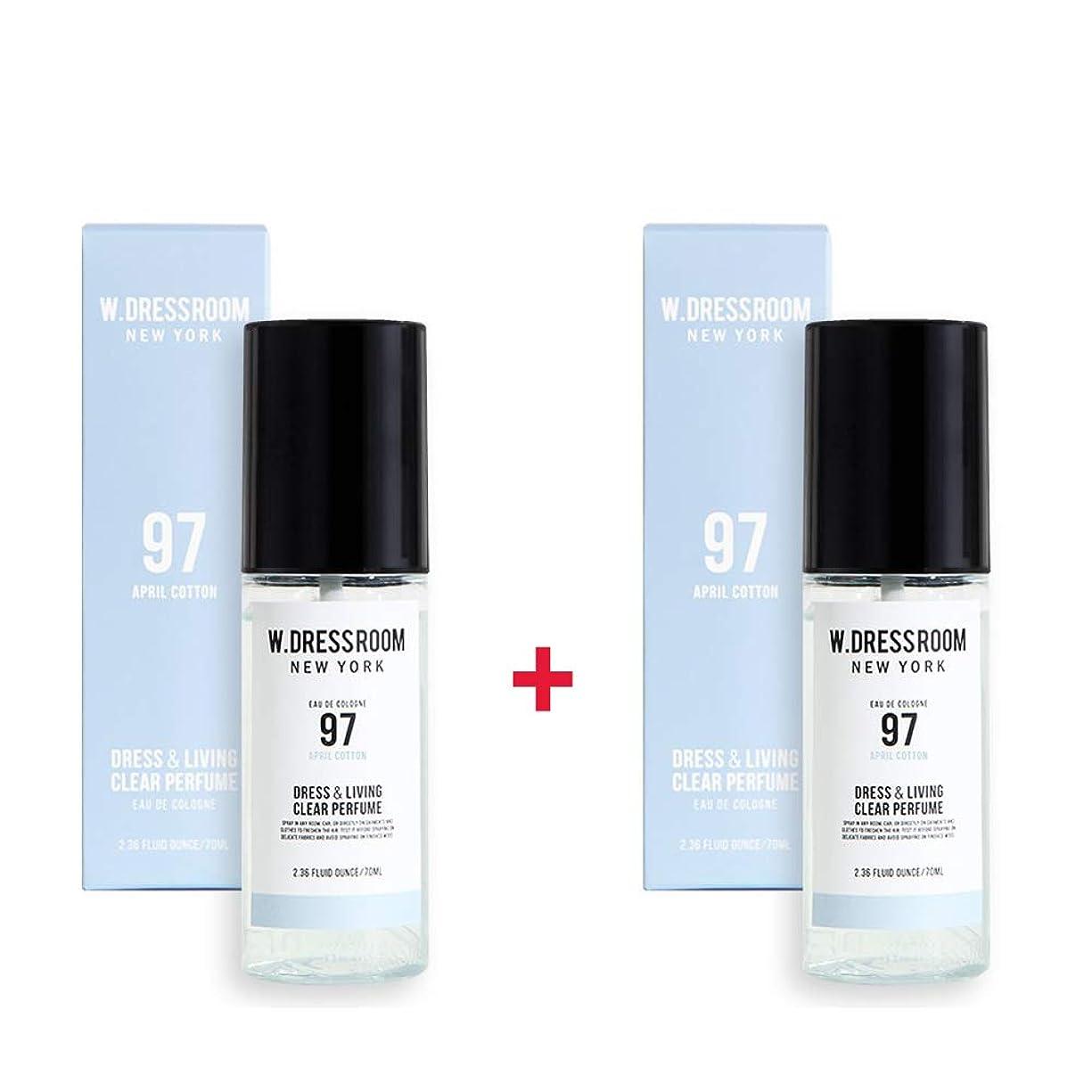 北へ優先権応答W.DRESSROOM Dress & Living Clear Perfume 70ml (No 97 April Cotton)+(No 97 April Cotton)