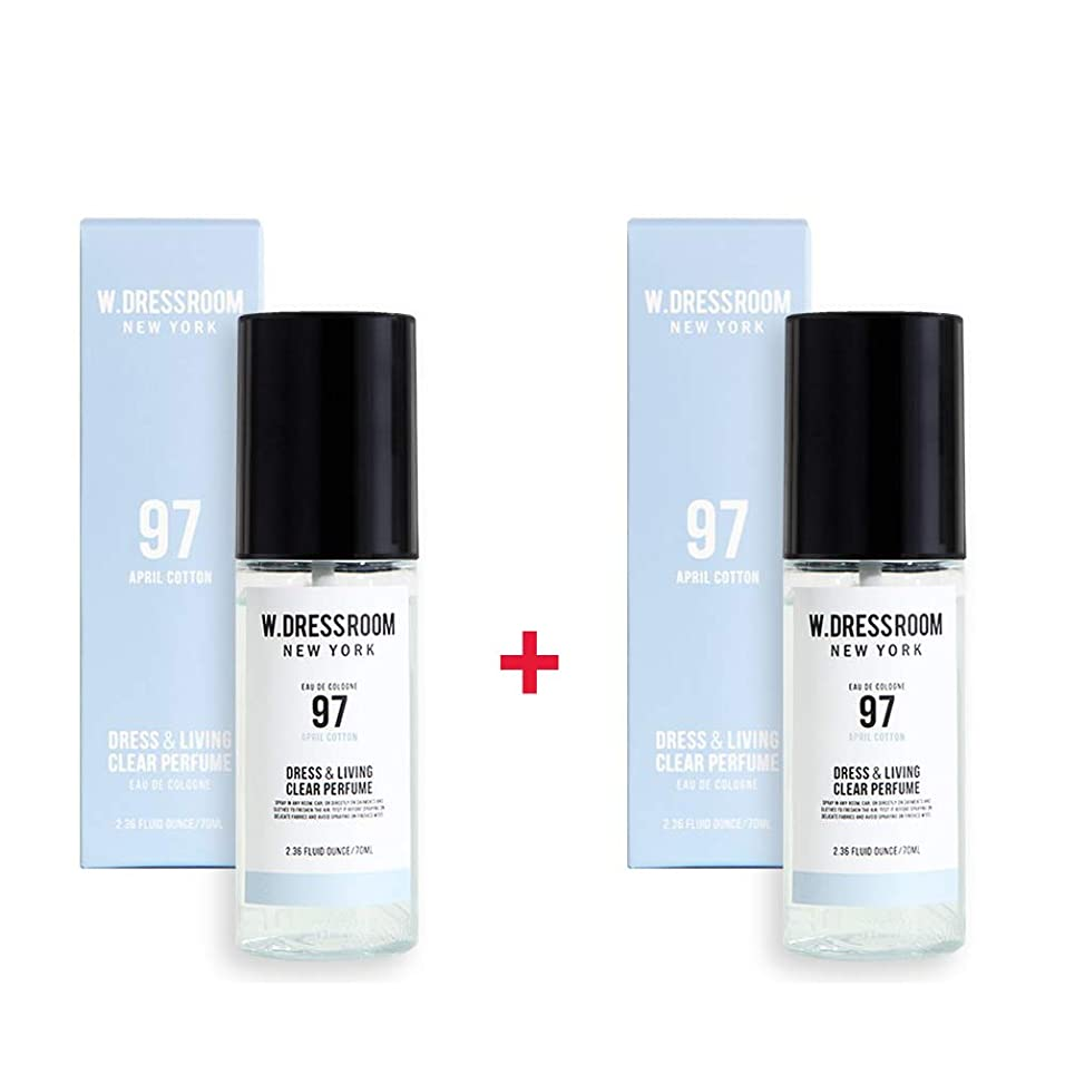 ひばりエトナ山染色W.DRESSROOM Dress & Living Clear Perfume 70ml (No 97 April Cotton)+(No 97 April Cotton)