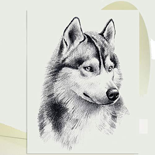 Fesjoy Papel para Dibujar, 20 Hojas A4 Sketch Paper Drawing Pad Papel en Blanco Suministros de Arte para Estudiantes Adultos Artistas