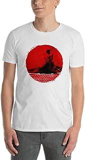 Cool Zoro Roronoa One Piece Anime Blood Moon Sunset Men Women Unisex T-Shirt