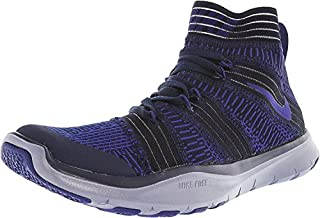 Nike Mens Free Train Virtue Hight Top Lace Up Running Sneaker, Blue, Size 11.5