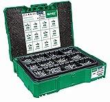 SPAX Box Systainer T-Loc I - Valise de montage avec vis en 12 dimensions pour le rangement et le transport - 500009172009 - Vert