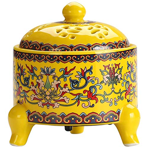 Lowest Price! Burner incense burner Ceramic Retro Electronic Incense Burner Aromatherapy Burner Home...