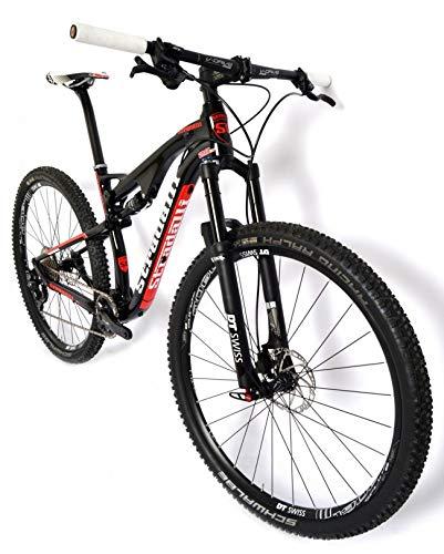 Stradalli Full Suspension 29er XC Mountain Bike. Full Carbon Black/Red Cross Country...