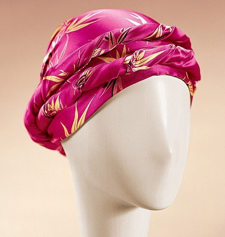 McCall 's Patterns m4116 Schnittmuster Turban, Headwrap und Kappen