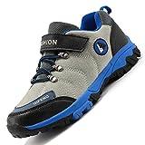 Rokiemen Chaussures Enfant Chaussure Randonnée de Garçon Fille Walking Trekking léger Outdoor Sporty Shoes d'escalade Antidérapantes Sneakers