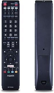 TVリモコン Sharp しゃ゜ぷ シャープ TV専用 テレビリモコン 汎用 シンプル 設定不要 簡単操作 GB173WJSA lc60ue30u lc70uc30u lc70ue30u lc80ue30u lc80uh30u 等の機種に対応