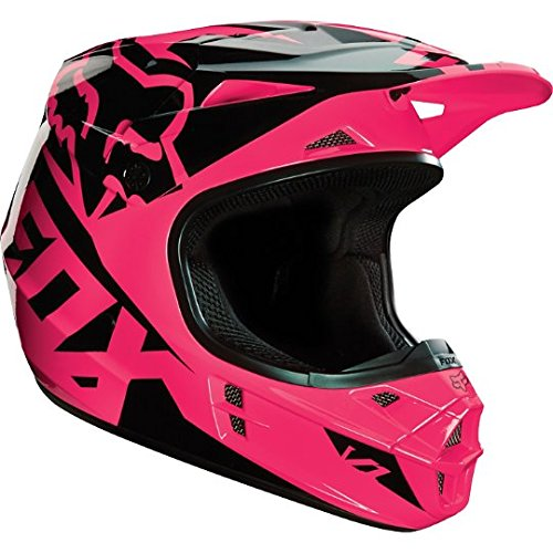 Fox Racing 2016 V1 Helm – Race (XXL) (Pink)