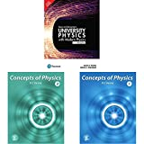 University Physics with Modern Physics | Fourtheenth Edition | By Pearson+Concept of Physics Part-2 (2019-2020 Session) by H.C Verma+Concept of ... Session) by H.C Verma(Set of 3 books)