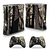 xbox 360 skins for console camo - Mightyskins Skin Compatible With X-box 360 Xbox 360 S Console - Tree Camo | Protective, Durable, And Unique Vinyl Decal Wrap Cover | Easy To Apply, Remove, And Change Styles | Made In The Usa