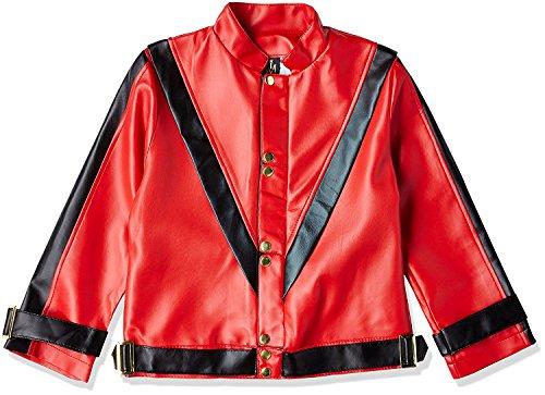Charades Michael Jackson Thriller Child Costume Jacket - Large