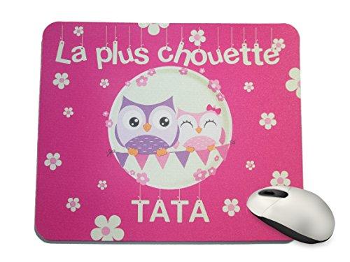 Créa03 Tapis de Souris la Plus Chouette Tata
