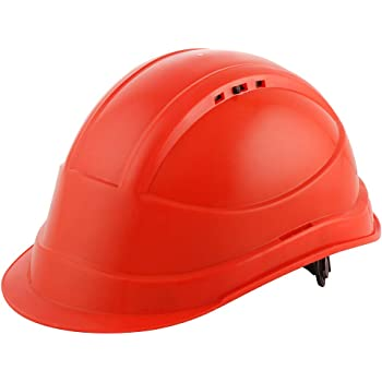 Black+Decker Red Industrial Safety Helmet (BXHP0221IN-R)