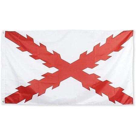 Estirpe Imperial Bandera de España Cruz de Borgoña 150x90cm