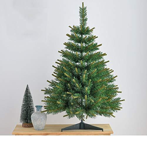 Bureau de Noël arbre décoration maison arbre arbre de Noël ornements simulation luxe crypté paquet d'arbre de Noël décorations de Noël (Color : Green)
