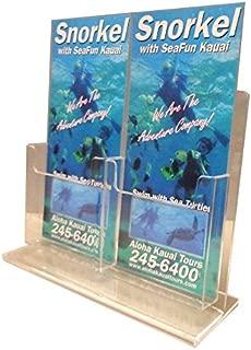 double brochure holder