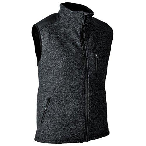 Pfanner warme Wooltec Weste aus Merinowolle, Farbe:grau, Größe:XL