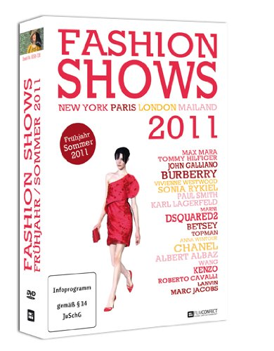 Fashion Shows Frühjahr/Sommer 2011 (4 DVD-Box) Designer und Topmodels auf den Laufstegen der Modemetropolen London, Paris, Mailand und New York!